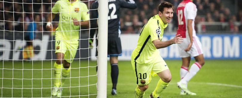 CL Ajax vs Barcelona